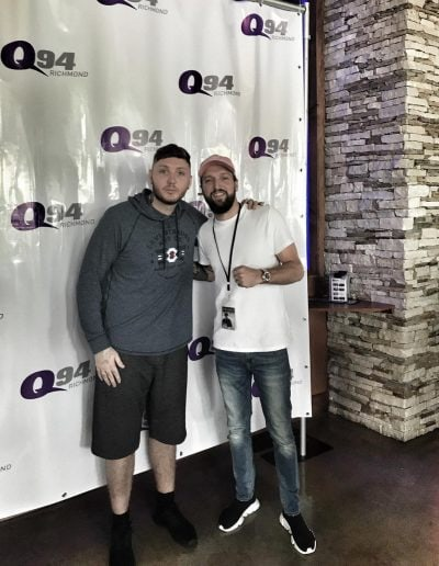 James Arthur and Myke Metzger