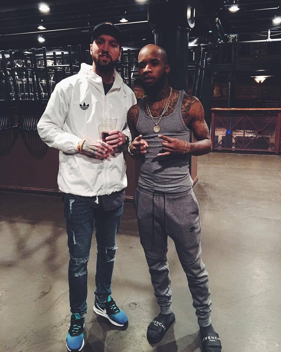 Tory Lanez and Myke Metzger