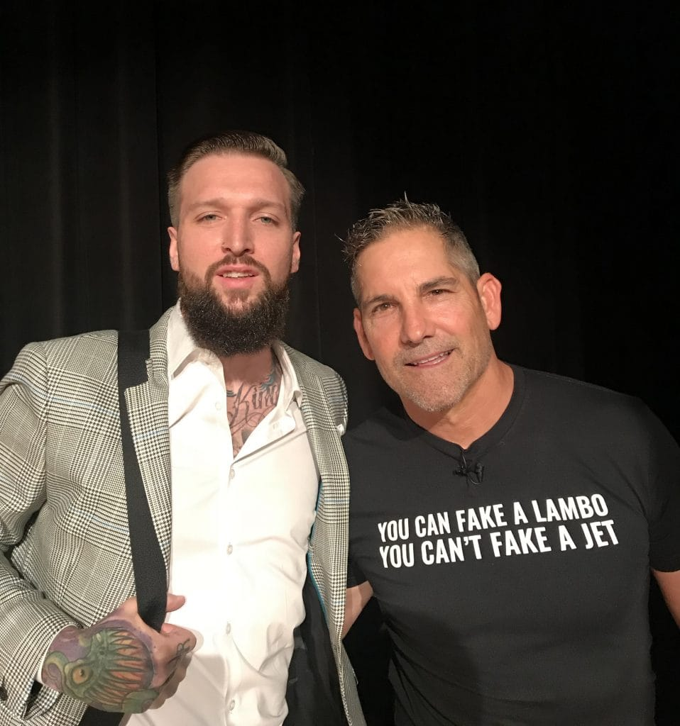 Grant Cardone and Myke Metzger at Entrepreneurcon in Miami, FL